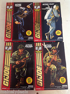 G.I.JOE COMMEMORATIVE COLLECTION 1964-1994 ACTION FIGURES SET OF 4