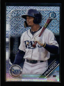 WANDER-FRANCO-2019-BOWMAN-CHROME-BCP-100-ROOKIE-MOJO-REFRACTOR-VARIATION-FC3624