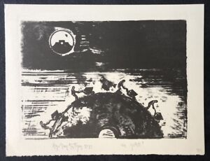 Stephan-Stuettgen-Wie-geht-s-Lithographie-1989-handsigniert-und-dat