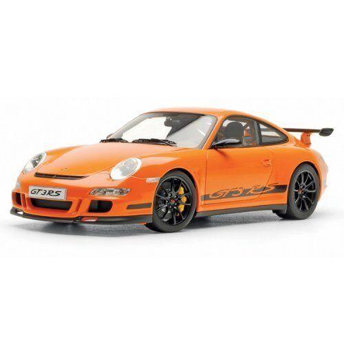 bilkonst 1  12 Porsche 911 997 GT3 RS orange tärningskast Förlaga 12117
