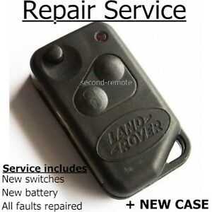 Details about Repair refurbishment fix for Range Rover P38 remote flip key  fob + new case
