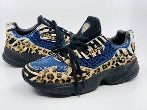adidas falcon leopardo