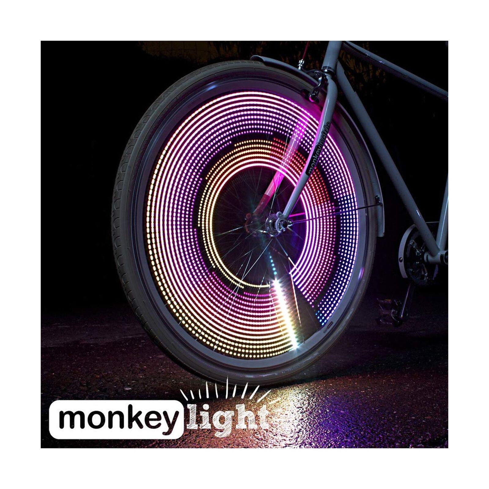 bicicletta rueda Light  200 Luuomini  32 Full Coloree LED  Waterproof