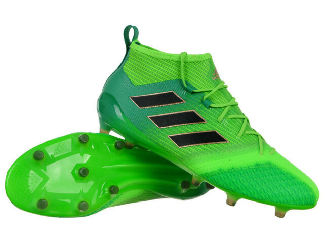 promo code 6eb93 29a3a Men's ACE 17.1 Primeknit FG Firm Ground Boots Soccer Shoes Moulded Studs