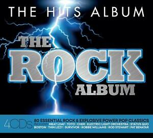 THE-HIT-ALBUM-THE-ROCK-ALBUM-Status-Quo-Billy-Idol-CD