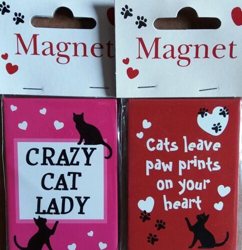 Cat-Themed Fridge Magnets