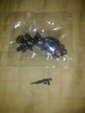 Halo Mega Bloks Set #CNG69 UNSC Black Marine with Green visor SAW Rifle