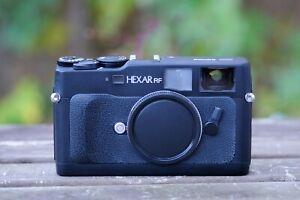 Konica-HEXAR-RF-35mm-Rangefinder-Film-Camera-Leica-M-Mount-Body-Only