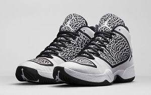detailed look f4ec9 4030c Details about Nike Air Jordan 29 XX9 Oreo Size 8.5. 695515-070 bred bhm  photo reel quai