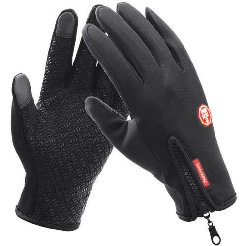 Men /& Women Winter Warm Windproof Waterproof Thermal Gloves Touch Screen Mittens