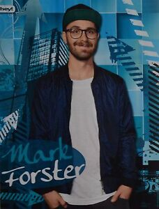 MARK-FORSTER-A4-Poster-ca-21-x-28-cm-Clippings-Fan-Sammlung-NEU