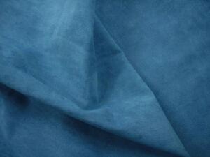 Pelle di Maiale in pelle scamosciata velluto Sonnellino piccoli pezzi Barkers H358S AZZURRO BLU Pigsuede