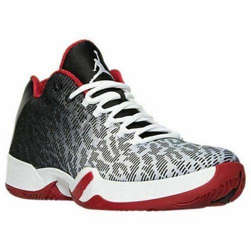 newest d64dc 8d499 Nike Air Jordan Xx9 Low Sz 11 White Black Gym Red 828051 101 for sale  online   eBay