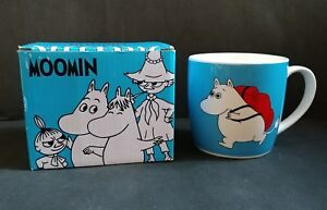 Details about New Moomin TRAVEL Ceramics Coffee Mugs Cups Moomintroll  Snorkmaiden Boxed OK