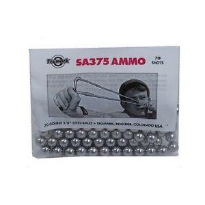 70-count-3-8-steel-balls-slingshot-ammo-SA375-sling-ball-bearings-metal-round