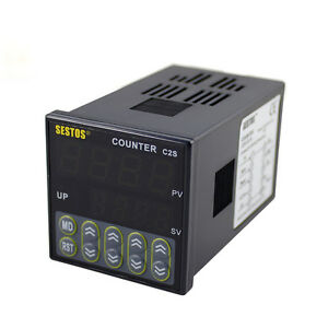 NEW-Professional-DIN-Digital-Counter-4-Digital-Counter-110-220V-AC-HOT-SALE