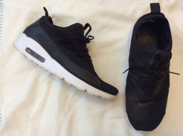 Nike Air Max 90 EZ AO1745-001 Black Trainers Mens Size UK 11 EU 46 US 12
