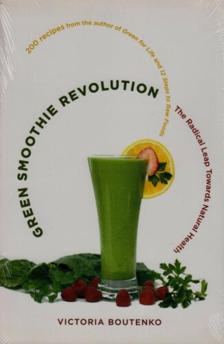 1 of 1 - Green Smoothie Revolution BRAND NEW BOOK by Victoria Boutenko (Paperback 2009)