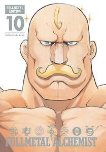 Fullmetal Alchemist Volume 10 Hardcover Graphic Novel