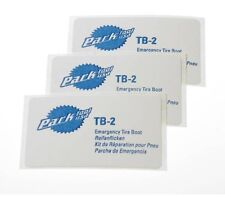 PARK TOOLS TB-2 EMERGENCY BICYCLE TIRE BOOTS PACK OF 3