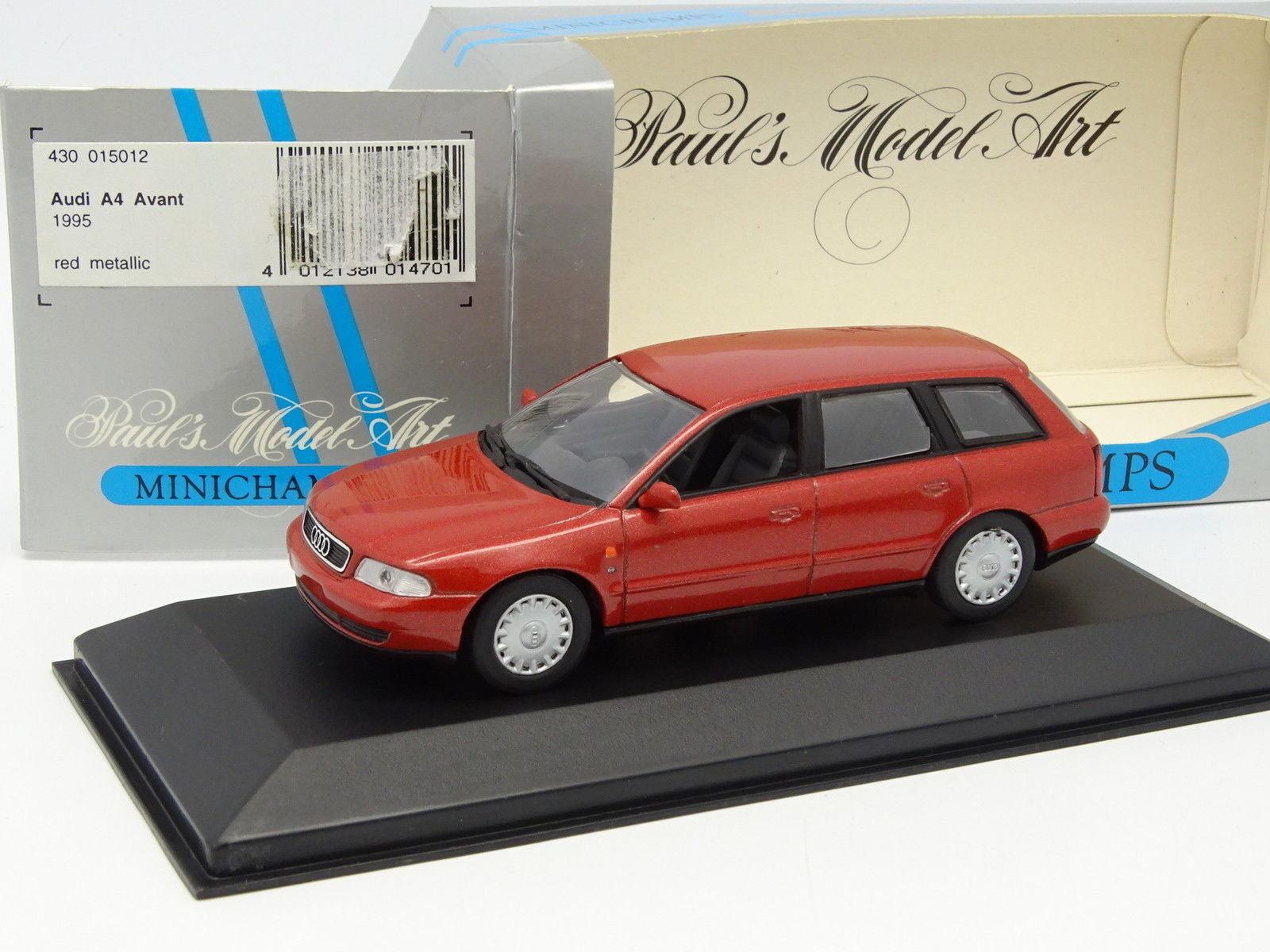 Minichamps 1 43 - Audi A4 Delantero 1995 Rojo