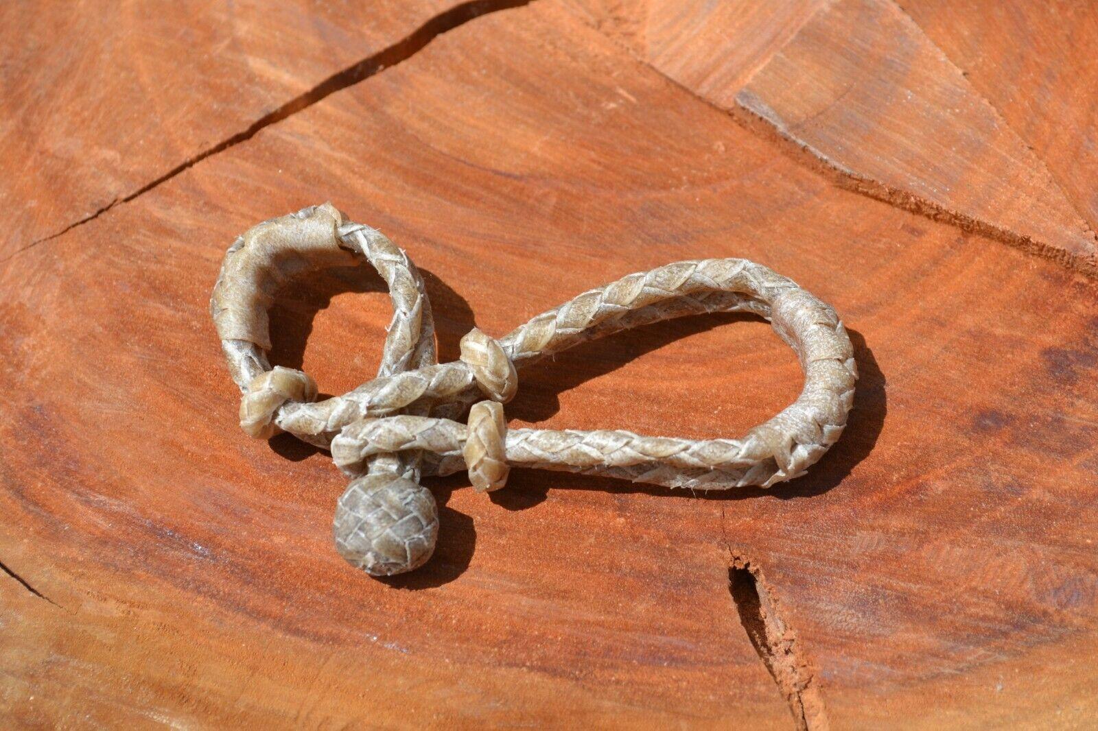 Ersatz 4 Zopf Hand Hand Hand Geflochtene Rohleder Bit   Zügel Verbinder - Paar       Neue Sorten werden eingeführt  4ad78b