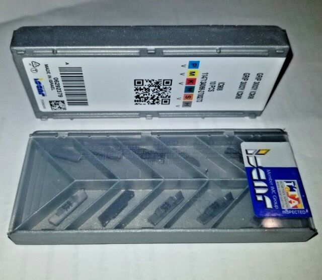 GRIP 3003Y IC908 ISCAR *** 10 INSERTS *** FACTORY PACK ***