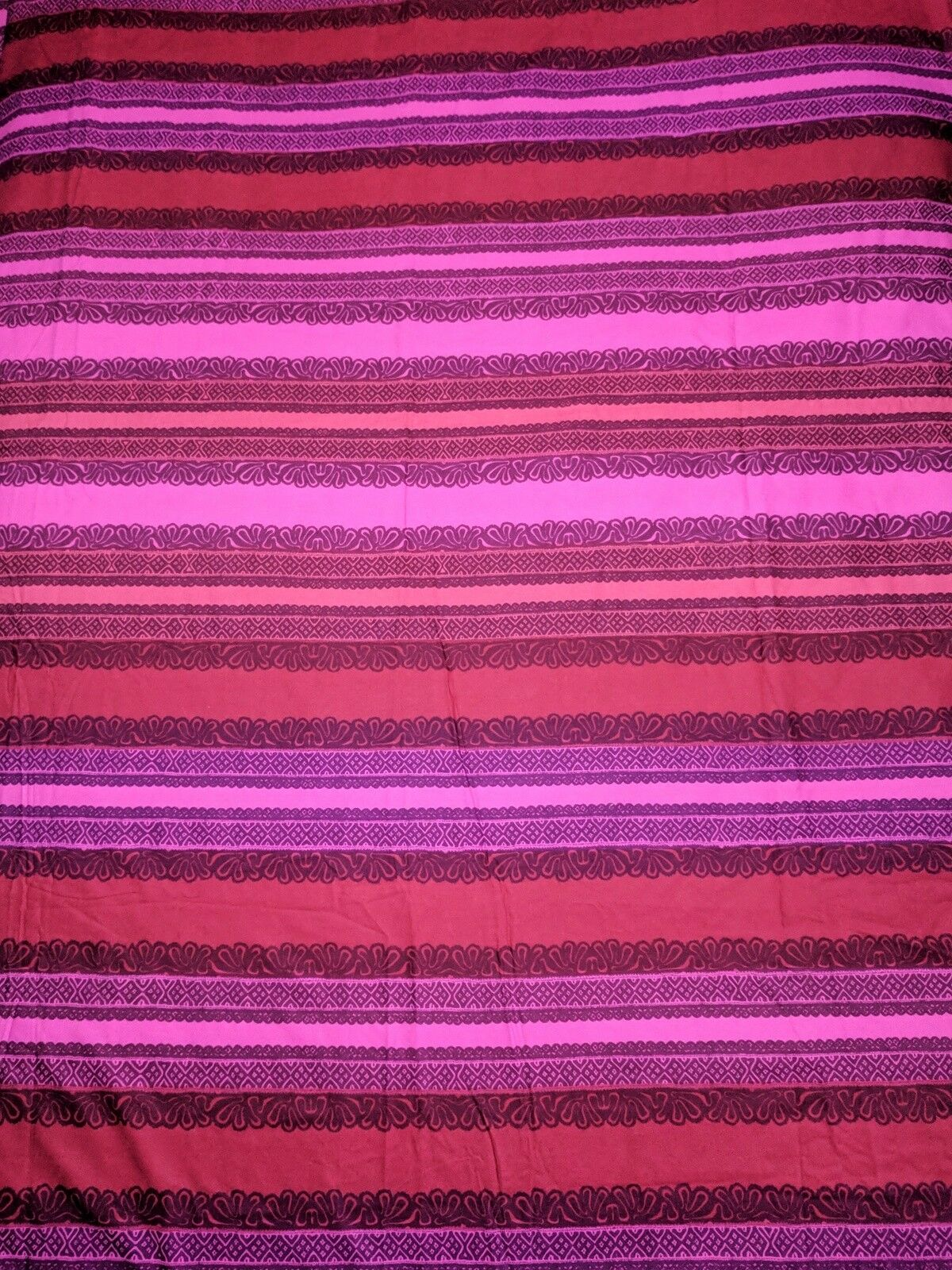 MARIMEKKO Duvet Startseite Pillow Case Set rot Magenta Burgundy Cotton