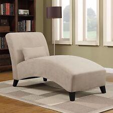 Chaise Lounge Sofa Indoor Chair Loveseat Bedroom Living Room Microfiber Modern