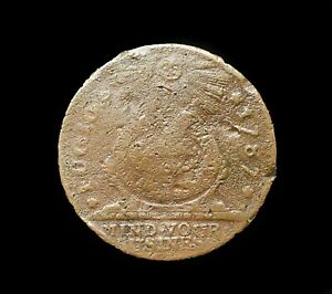 1787 Fugio Cent~Penny~Copper~Colonial Era Coin~Rare Beauty with great Color~!