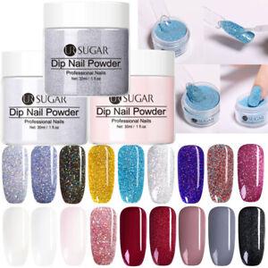 UR-SUGAR-Nail-Dipping-Acrylic-Powder-Nail-Art-Dip-Liquid-No-Need-LED-Lamp-Cure