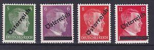 O-1945-ANK-Nr-660-63-Komplettsatz-4-Werte-postfrisch