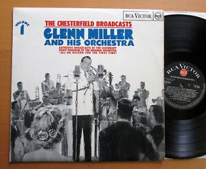 Glenn-Miller-The-Chesterfield-Broadcasts-Vol-1-RCA-Victor-RD-7932-NM-EX-Vinyl