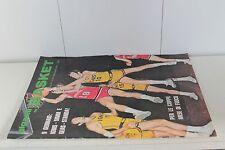 rivista GIGANTI DEL BASKET 1971 numero 16