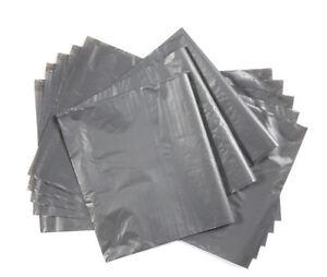 Grey-Posting-Bags-Packs-Set-50-12-x-16-Selling-Tool-Packaging-Postal-Mail-Send