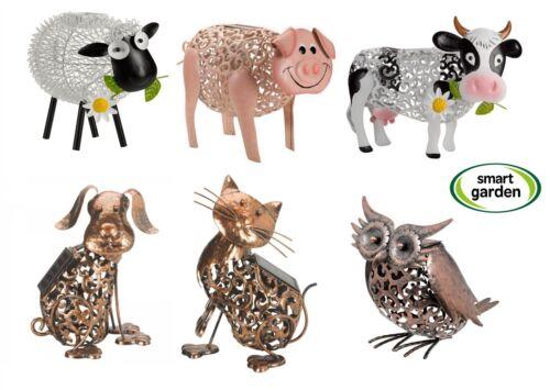 Smart Garden Patio Solar LED Light Dolly Sheep Daisy Cow Cat Dog Owl Pig Hen