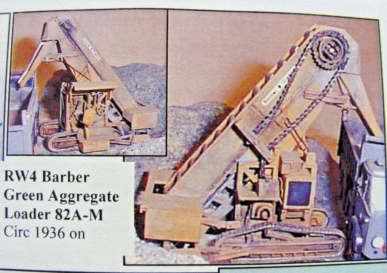 Barber-verde 82A-M Belt Loader Kit 1/76 Scale  OO  By Langley Models