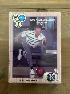 PBA-Bowling-Kingpins-100-Card-Collector-Set-1990-1st-Edition-Earl-Anthony-Sealed