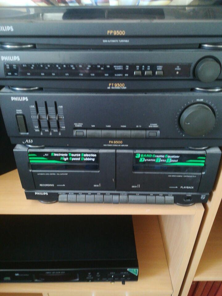 Stereoanlæg , Philips, F9300