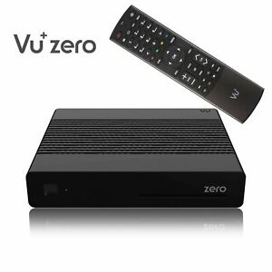 GENUINE Zero HD rev 2 H.265 Full HD 1080p Satellite + Free VU+ Darkgold LNB