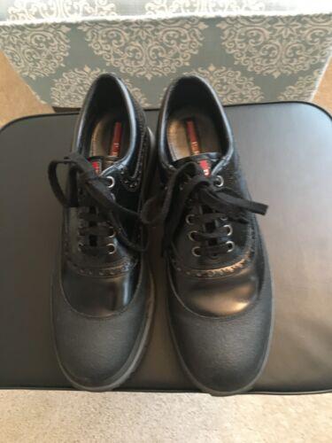 Prada Brogue Oxford Sneakers