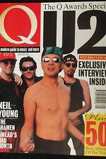 Q MAGAZINE, No 76, JAN 93 feat NEIL YOUNG, SHAMEN, SINEAD O'CONNOR, U2, QUO