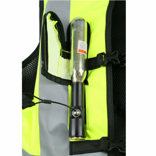 CO2 Cartridge Yellow L XXL Size Air Bag Motorcycle Air Nest Airbag Vest Safety