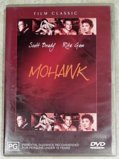 Mohawk (Scott Brady & Rita Gam) DVD in GREAT condition (Region 4)