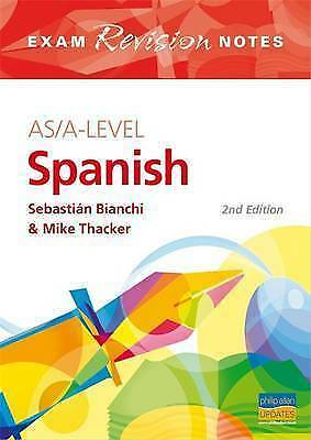 AS/A-Level Spanish (Exams Revision Notes) (Spanish Edition)-ExLibrary