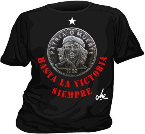 "Superbe T-shirt  CHE GUEVARA  /""HASTA LA VICTORIA SIEMPRE/"""