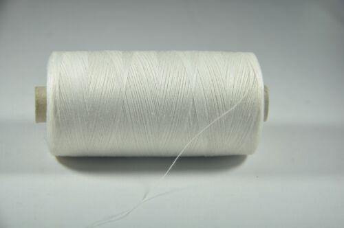 Nähgarn 100/% Baumwolle Rolle a´ 2000m Stärke 80//3