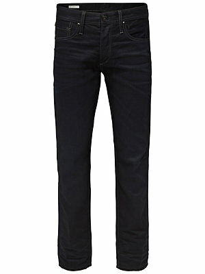 NEU JACK and & JONES CORE Jeans *** JJ 730 LID Herren Men Hose schwarz blau blue