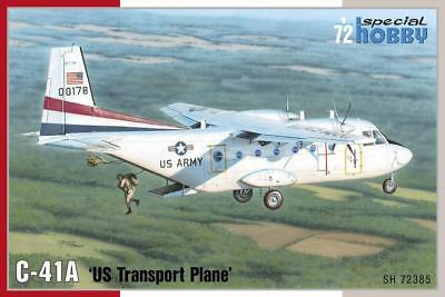 "Aircraft (non-military) Responsible Special Hobby 1/72 C-41a ""us Transport Plane"" # 72385 Great Varieties Toys & Hobbies"