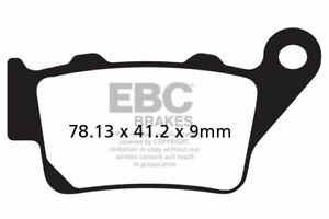 FIT-VOR-All-models-with-2-piston-Brem-99-gt-02-EBC-MXS-Series-Moto-X-Race-Pads-Rear